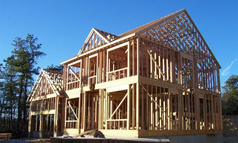 Каркасно-панельные дома из дерева