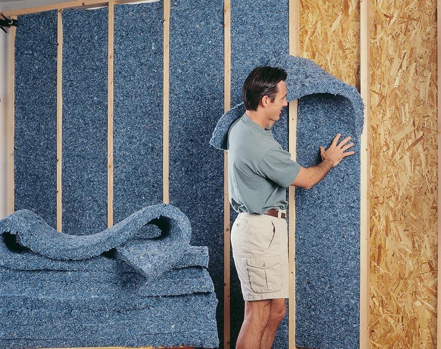Утепление стен и шумоизоляция загородного дома