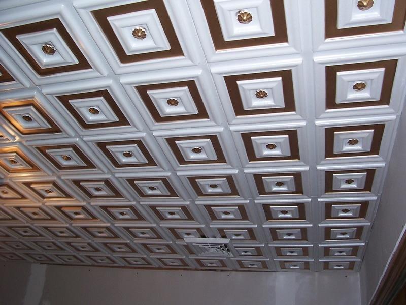 Выбрать потолочную плитку