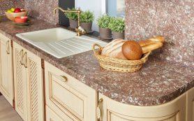 Кухонные столешницы и материалы для их изготовления