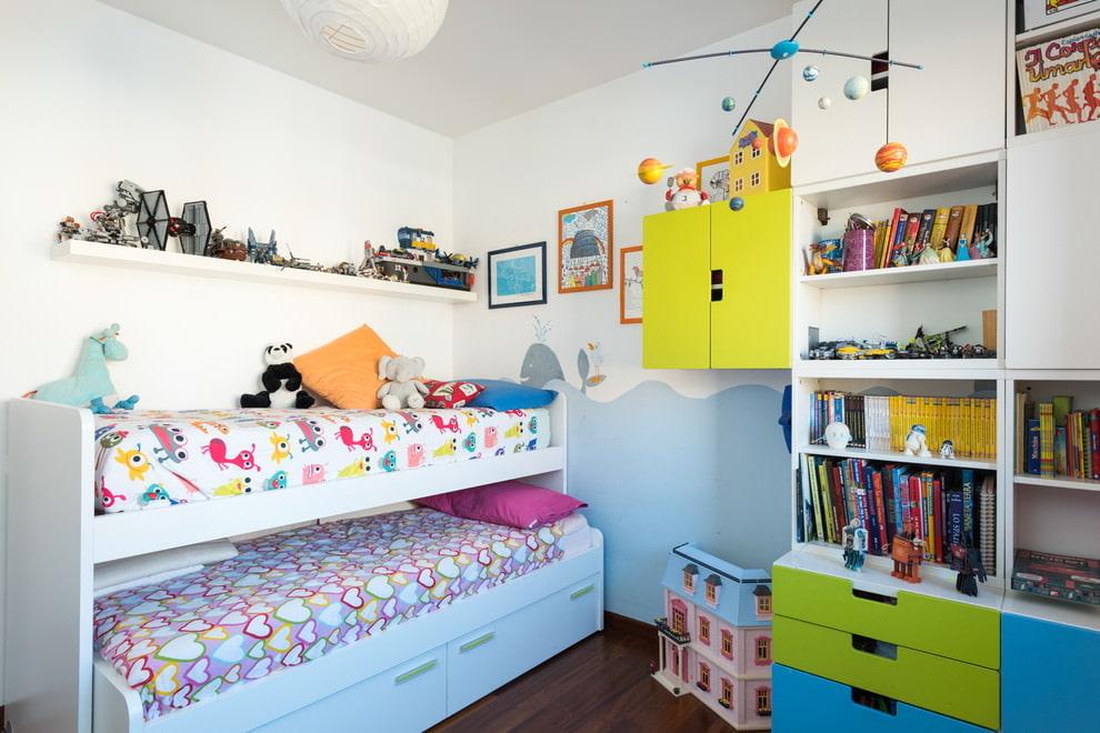 Мебель для маленьких детских комнат